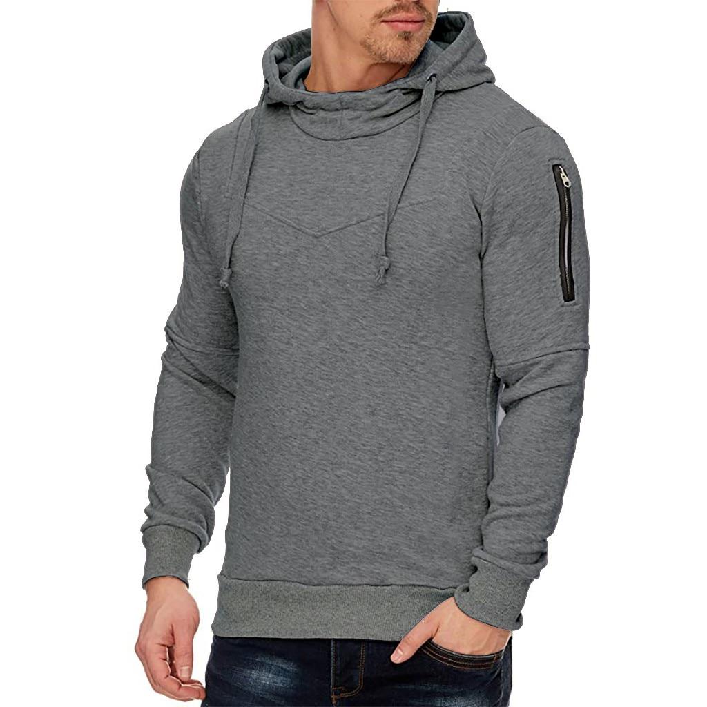 Winter Men's sweatshirt hoodies moletom Long-sleeved Zipper men's hoodies Utility Tops men hoodies sweatshirts