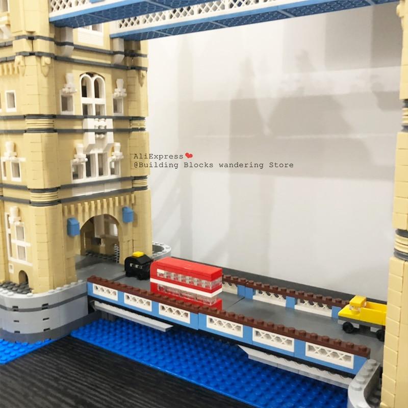 4295 Pcs World Famous Architettura London Tower Bridge Creatore Esperto Compatibile Legoinglys Building Blocks Fai da Te Giocattoli 17004 10214 - 5