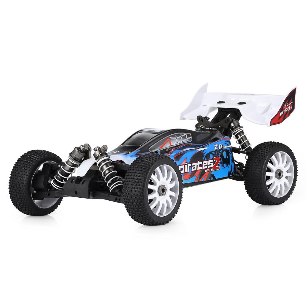 LeadingStar ZD Racing 9072 1/8 2.4G 4WD Brushless Electric Buggy High Speed 80km/h RC Car