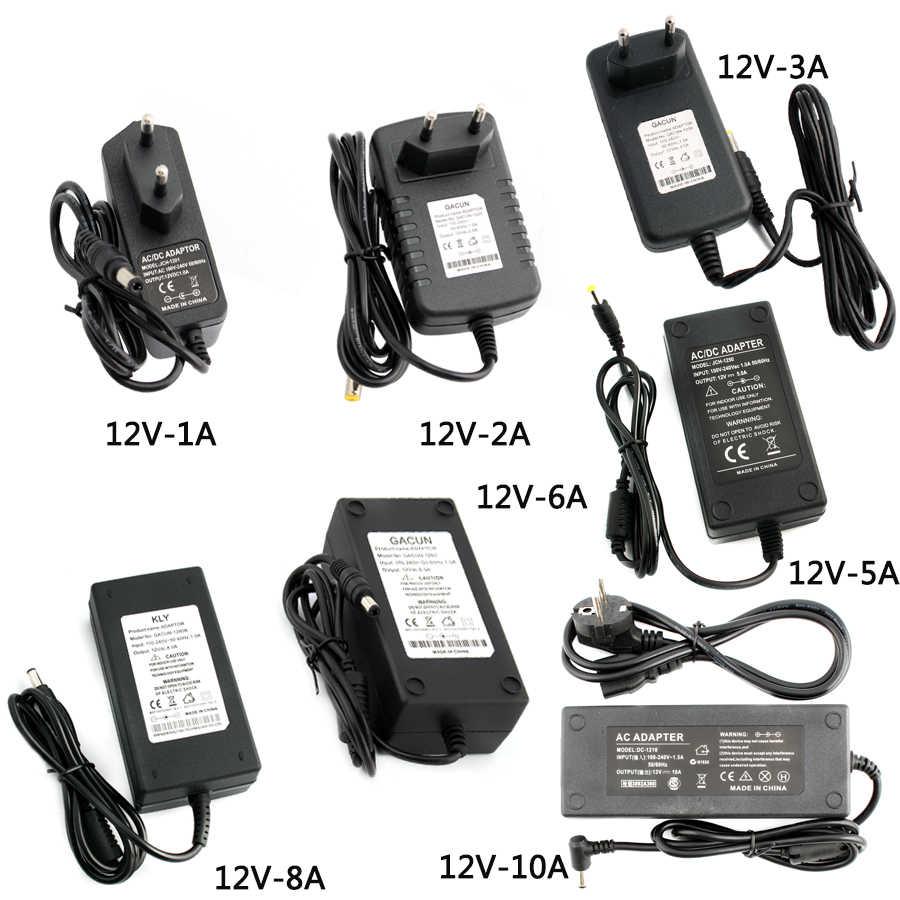 convertidor de voltaje CA//CC Fuente de alimentaci/ón conmutada regulada universal para LED Fuente de alimentaci/ón conmutada regulada 12V 5A