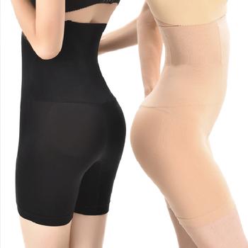 Kobiety wysokiej talii majtki modelujące oddychające urządzenie do modelowania sylwetki odchudzanie brzucha bielizna Butt Lifter majtki bezszwowe shaperwear Ladies tanie i dobre opinie ECMLN NYLON Czopiarki STANDARD Popelina Średni WOMEN A307-Z NONE Kontrola figi