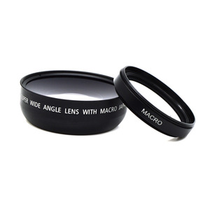 Image 4 - 0.45x 49mm  Wide Angle Macro Lens Wide Angle Camera Lens For Canon EOS Nikon For Sony Lens Accessories