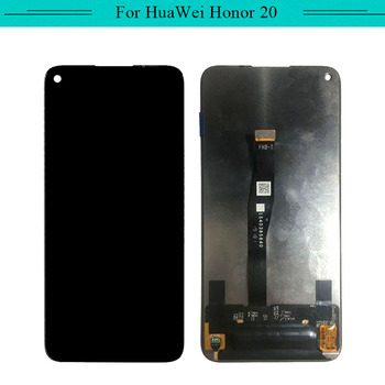 1pc For Huawei honor 20 YAL-L21 Full Lcd Display complete touch screen Glass Digitizer assembly with free shipping