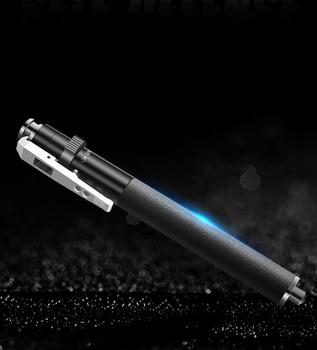Palanca telescópico de acero de aleación pluma varilla de vidrio de romper martillo 19cm hasta 40cm de acero palo arma-Instrumento de coche auto- defensa de protección