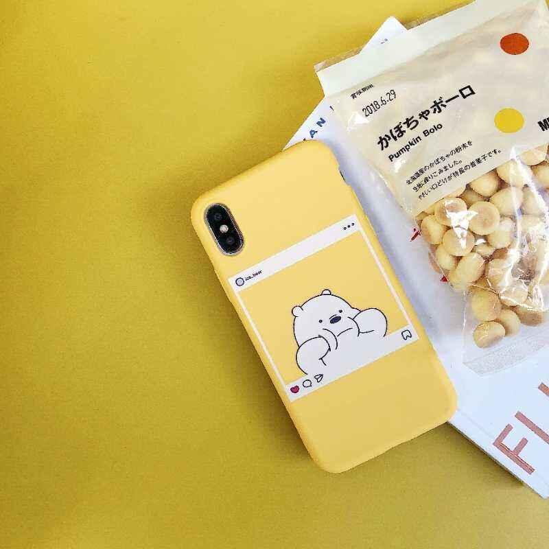 """Silicone Cover untuk Xiaomi Redmi 6A Case 5.45 """"Pola Cetak Telepon Lucu Kasus untuk Xiomi Redmi6 Redmi Note 4 4X Fundas Coque"""