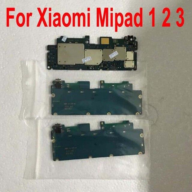 Original Unlock mainboard For Xiaomi MiPad 1 Mi pad 2 Mipad 3 Motherboard card fee chipsets flex cable