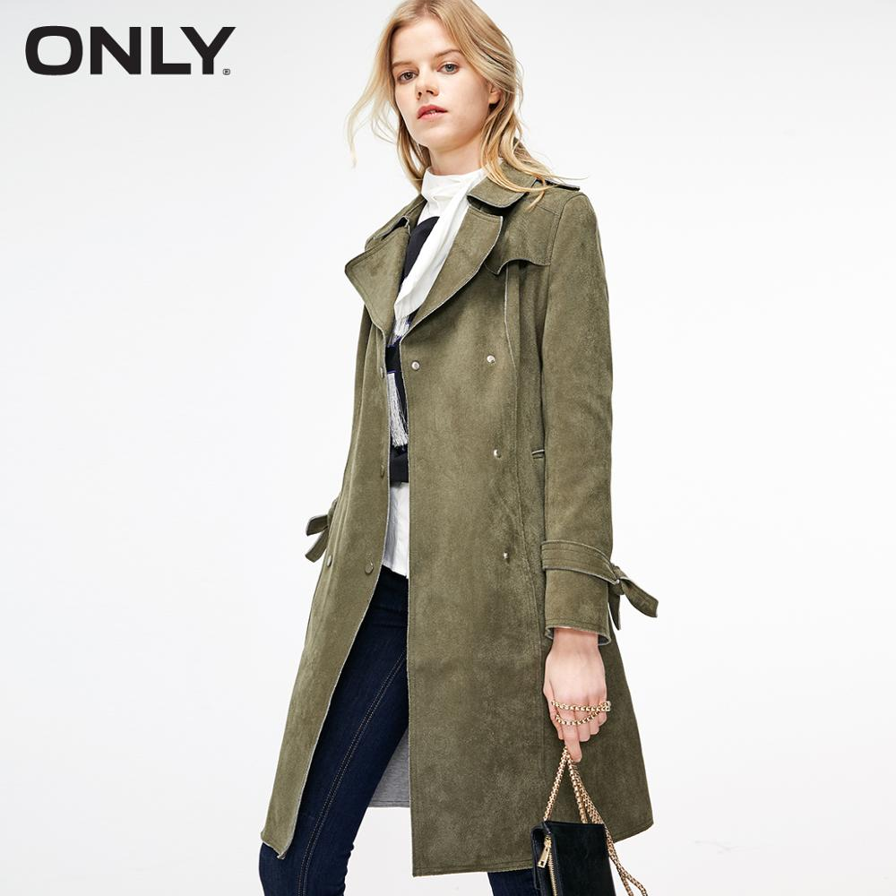 ONLY Women's Mid-length Trench Coat | 119136510