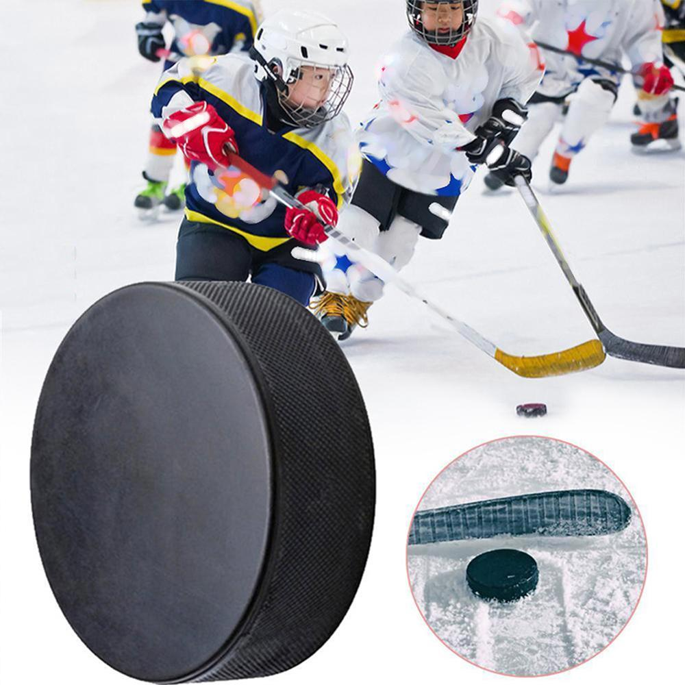 Professional Ice Hockey Hockey Puck Bulk Blank Ice Official Regulation Rubber Black Replacement Spare Wholesale Dropshipping