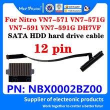 Nuevo Original ordenador portátil SATA SSD HDD cable para disco duro conector para Acer Nitro VN7-571 VN7-571G VN7-591 VN7-591G DH7VF NBX0002BZ00
