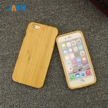 JAVY drewniany futerał na telefon do iPhone X XR XS Max 8 7 6 S Plus Handmade naturalny prawdziwy drewno bambusowa twarda okładka