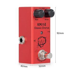 Image 5 - Kmise Electric Guitar Effects Pedal Classic Chorus Mini Single True Bypass DC 9V