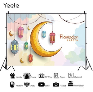 Image 4 - Yeele Photozone Islamic Ramadan Backdrop Props Moon Castle Vinyl Background Decor Photocall Photography Baby Photo Studio Shoots