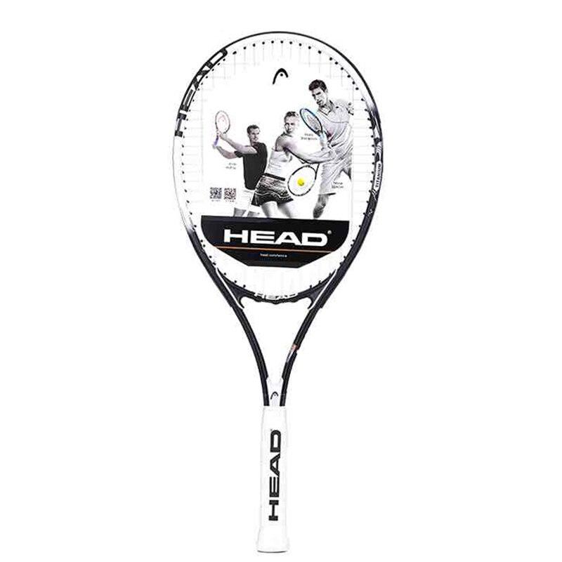 Professional Man Women Tennis Racket Training HEAD Tennis Racket Large Tennis String Fixed Good Overgrip Padel Tennis