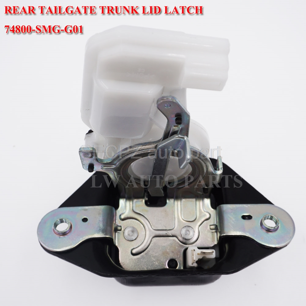 Rear Tail Door Tailgate Trunk Lid Luggage Latch Lock Actuator For <font><b>HONDA</b></font> CRV <font><b>2007</b></font> <font><b>2008</b></font> <font><b>2009</b></font> <font><b>2010</b></font> 2011 For Acura MDX <font><b>2007</b></font>-<font><b>2009</b></font> image