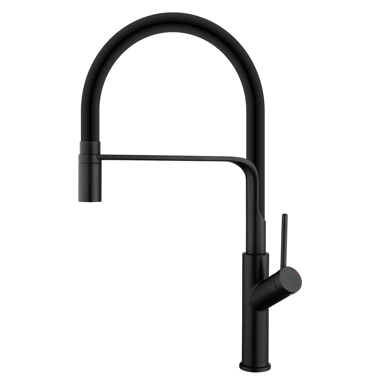 Kitchen Faucet Silicone Hose High Arc Bathroom Basin Faucet Sink Faucets Ceramic Valve 360 Degree Swivel Kitchen Mixer Water Tap
