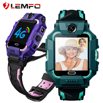 LEMFO Y99 4G Smart Watch Kids Dual Camera Support HD Video Call GPS Wifi LBS Children Smartwatch For Android IOS Phone Watch