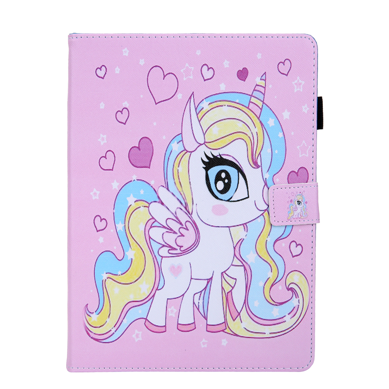 A Red Tablet Cover For Apple IPad Air 4 10 9 inch 2020 Cartoon Leather Case For Ipad