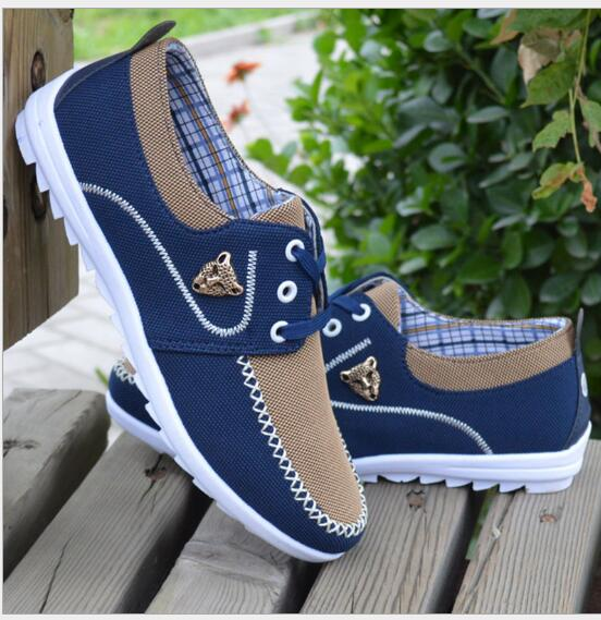 2019 New Men's Casual Canvas Shoes Korean Version Of The Trend Of Students Large Size Canvas Shoes 39-48