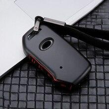 Цинковый сплав+ силиконовый чехол для ключей от машины крышка оболочки для Kia Sportage Ceed Sorento Cerato Forte кнопки дистанционного управления смарт-3/4