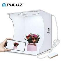 Портативный фотобокс 20 см/30 см мини кольцевой светодиодный лайтбокс софтбокс для фотостудии палатка для съемки комплект с 6 фонами