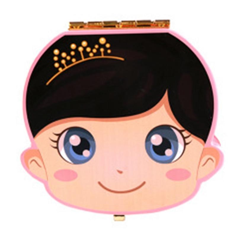 Baby Tooth Box Wooden Milk Teeth Organizer Storage Boys Girls Save Souvenir Case Gift Creative Baby Tooth Organizer For Kids