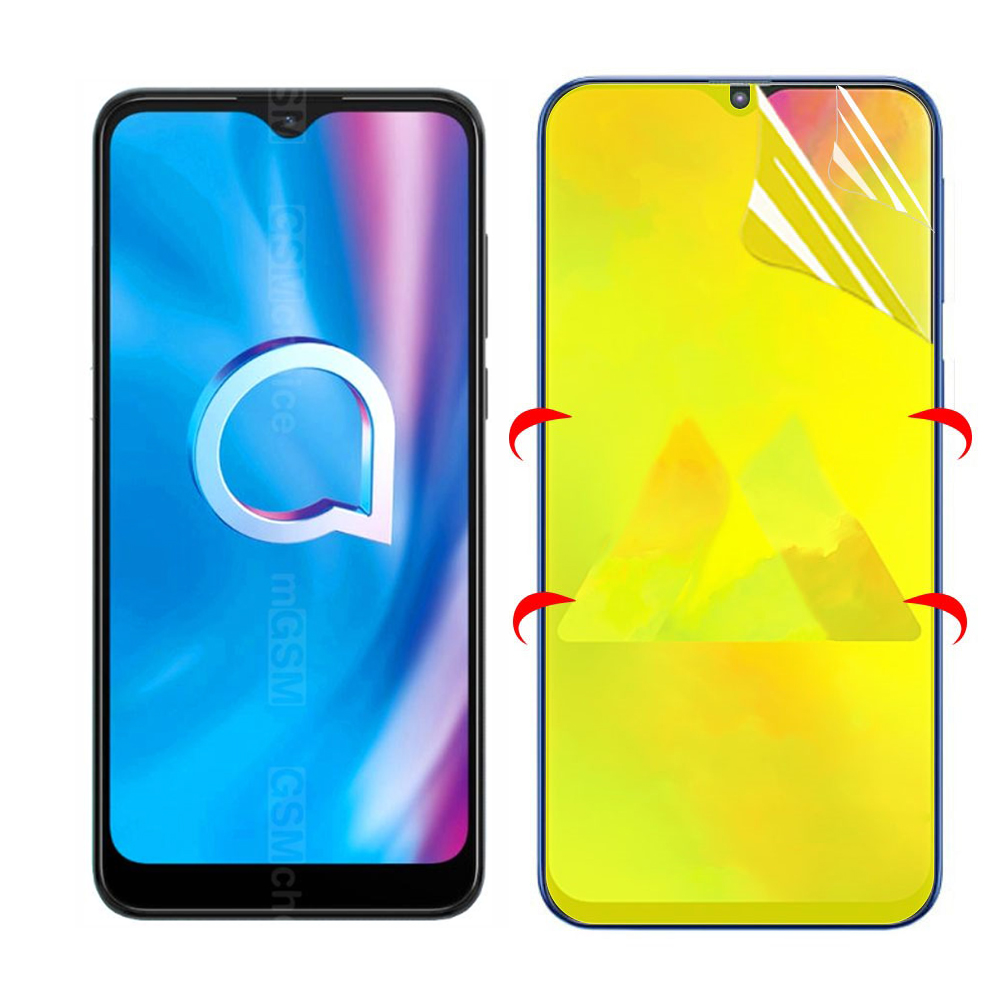 Hydrogel Film For Alcatel 1V 1S 3L 2020 Screen Protector Protective Film For Alcatel 3L 2020 Glass