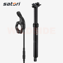 Satori Sorata Pro Verstelbare Dropper Zadelpen Mtb Mountainbike 30.9/31.6 Afstandsbediening Hendel Fietsstoeltje Dropper Post Suspension Part
