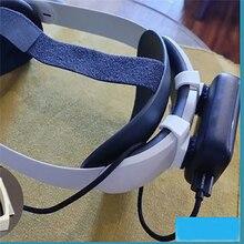 1 para stojak do przechowywania uchwyt wspornika banku mocy do Oculus Quest 2 Elite zestaw do wirtualnej rzeczywistości akcesoria opaska do włosów stojak do drukowania 3D