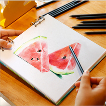 Fresh Cover Square Coil 140G Watercolor Painting Paper Pad 40 sheets Watercolour Paper For Drawing Art Supplies Gift