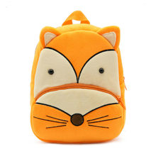 2019 Animal Fox Plush Backpack Kids Small Kids Backpack Boys Kids Backpack Boys Safety-harness Okul Cantaları Mochilas Escolares(China)