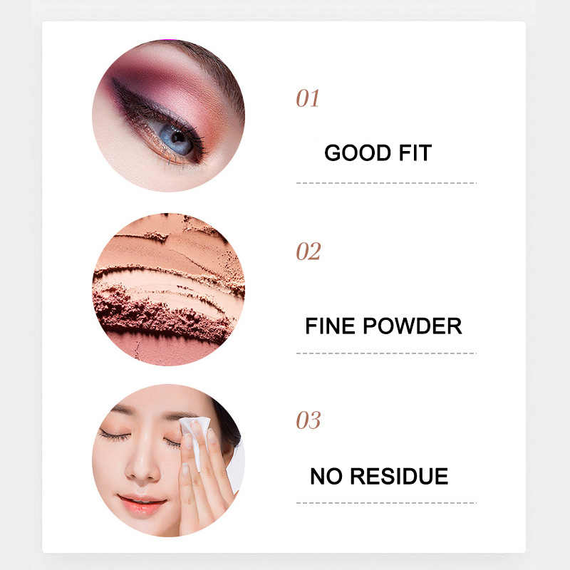Best 12 color eye shadow of cherry blossoms suit Pearl light Dumb light Lasting Coloration waterproof Eye shadow