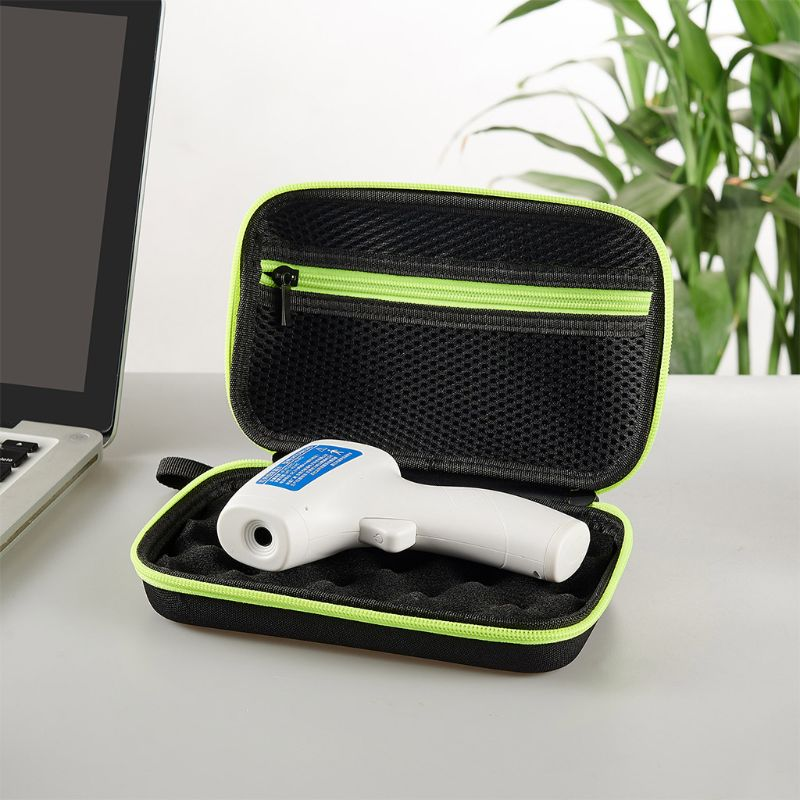 Mini Portable Thermometer Protective Carrying Case Hard EVA Storage Bag Thermograph Protector With Lanyard