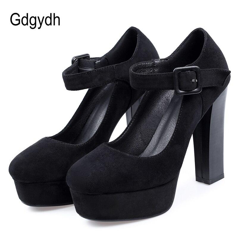 Gdgydh ouro lantejoulas pano sapatos de noiva casamento bombas femininas plataforma sapatos de salto alto mary janes moda fivela 2020 nova primavera