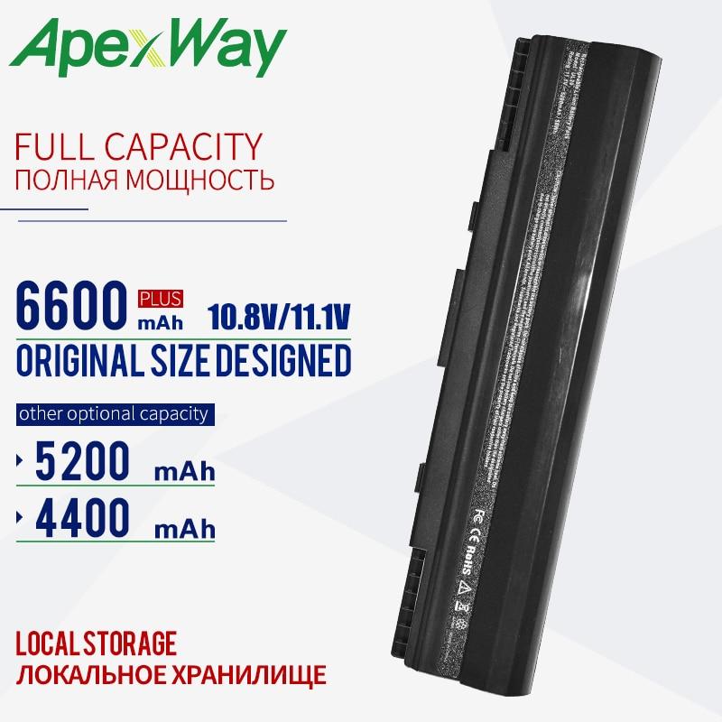 11.1v batterie d'ordinateur portable pour asus Pro23 Pro23A Pro23F UL20 UL20A UL20F UL20FT UL20G UL20GU UL20VT X23 X23A X23F X23FT