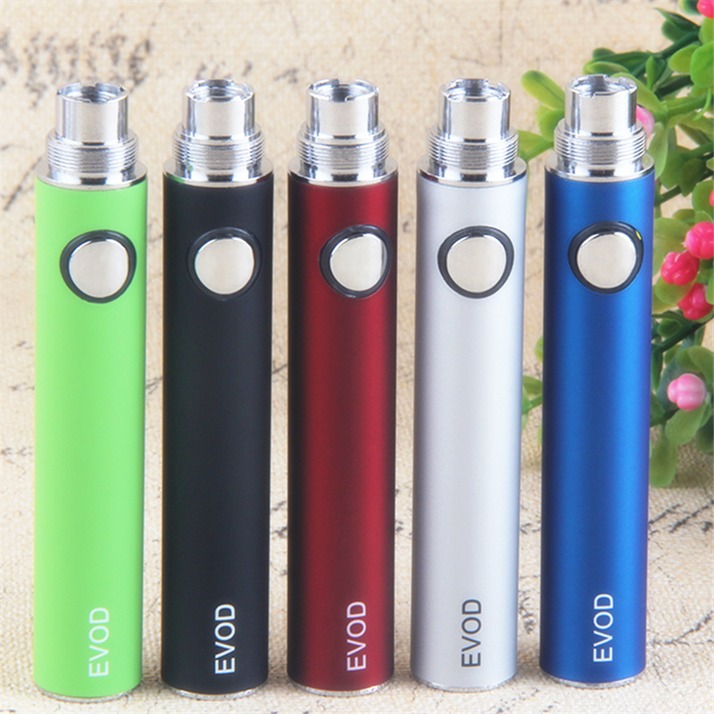 1Pcs Evod Battery 650 900 1100mah Vaporizer Ego Vape 510 Thread Battery Fit For Ce4 Ce5 Mt3 E Cigarette Atomizers Vaper Pen