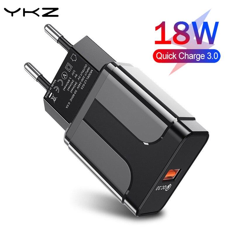 Устройство для быстрой зарядки с usb-портом, быстрая зарядка 3,0 4,0 универсальное настенное мобильный телефон планшеты зарядные устройства дл...