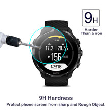2Pack 2.5D 9H Tempered Glass For SUUNTO 7 SmartWatch Screen Protector For SUUNTO7 Clear Anti-Scratch High Definition Glass(China)