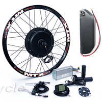 electric bicycle kit Cassette type 8s or 9s 52v 2000W electric bike conversion kit with 52V 13AH TS lithium battery