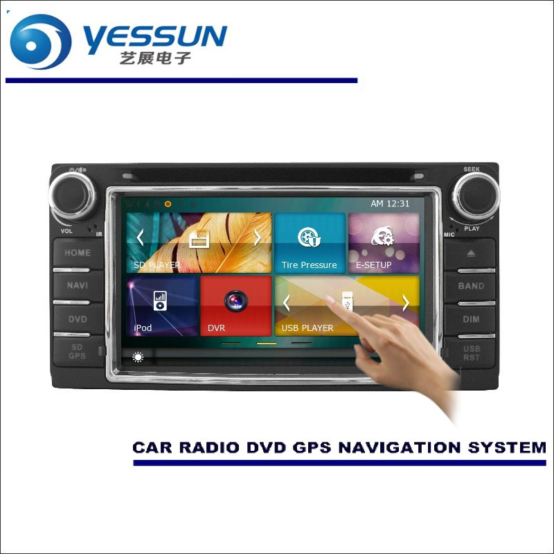 YESSUN For <font><b>Toyota</b></font> <font><b>Corolla</b></font> 2000-2006 Car <font><b>Radio</b></font> CD DVD Multimedia Player Amplifier HD TV Screen GPS Navigation Audio Video System image