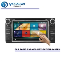 YESSUN For Toyota Corolla 2000 2006 Car Radio CD DVD Multimedia Player Amplifier HD TV Screen GPS Navigation Audio Video System