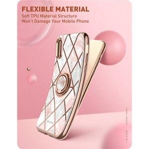 Image 3 - Cho Iphone X Xs Ốp Lưng I Blason Cosmo Ốp Mỏng Đá Cẩm Thạch Bọc Gắn Trong 360 ° Xoay Được giá Đỡ Chiếc Nhẫn Chân Đế Hỗ Trợ Gắn Trên Xe Hơi