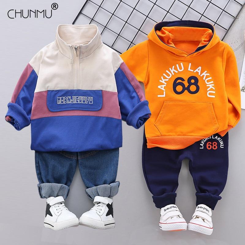 Комплект одежды для маленьких мальчиков; Весенние Повседневные детские комплекты одежды для мальчиков; Футболка с капюшоном + штаны; Комплект одежды; Детская одежда|Комплекты одежды|   | АлиЭкспресс