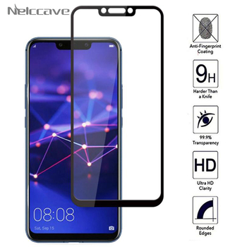 100 Pieces Full Coverage Protective 9H Tempered Glass For Huawei Mate 20 Lite 10 Pro 9 P Smar Plus 2019 HD Screen Protector Film