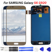G920f lcd For SAMSUNG GALAXY S6 G920 G920F LCD Display Touch Screen Digitizer Assembly TFT LCD Screen For Samsung S6 Display LCD(China)