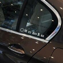 Наклейка на боковое стекло автомобиля для Mercedes W124 W211 W210 W203 W204 W126 W140 W220 W221 W222 W168 W169 W176 W177 W205 W212 W213