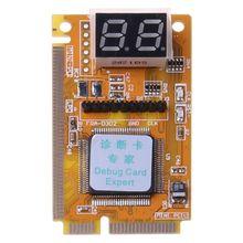 3 ב 1 PCI/PCI E/LPC מיני מחשב מחשב נייד מנתח בודק מודול אבחון שלאחר בדיקת כרטיס אלקטרוני PCB לוח תצוגת LED