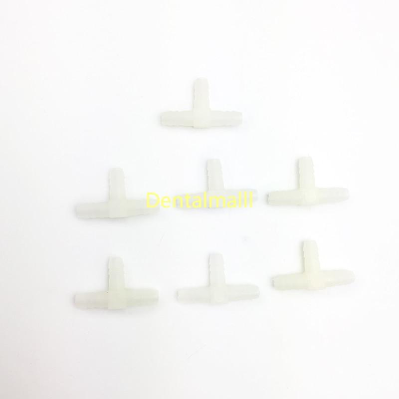 20 шт воздушная вода пластиковая трубка Т-образный соединитель труба штуцер стоматологическое кресло часть Dentalmall