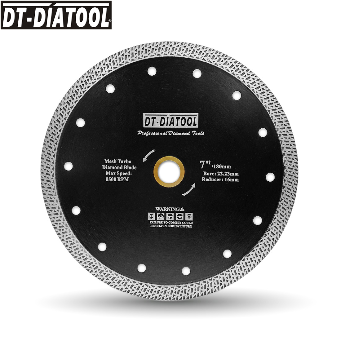 DT-DIATOOL 1 pieza diámetro 180mm/7