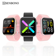 SENBONO 2020 R3L Smart Watch Men Full Touch Fitness Tracker Blood Pressure Smart Clock Women GTS Smartwatch for IOS Android IWO