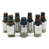6F35 Transmission Solenoids Kits 7Pcs Fit for Ford Escape Fusion Mazda Tribute Mercury Marinet Milan Gearbox Solenoid Valve